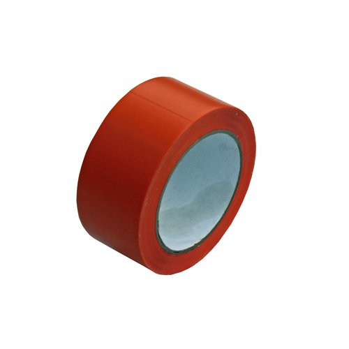 PVC-Putzband orange glatt